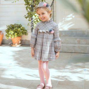 Miranda vestido pompones Petit Moda Infantil