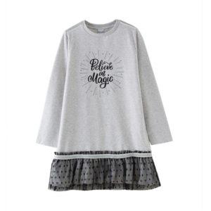 Vestido believe Petit Moda Infantil