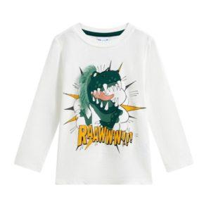 camiseta manga larga dino Petit Moda Infantil