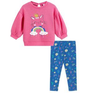 conjunto legging gatita Petit Moda Infantil
