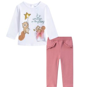 Conjunto legging ardillas Petit Moda Infantil